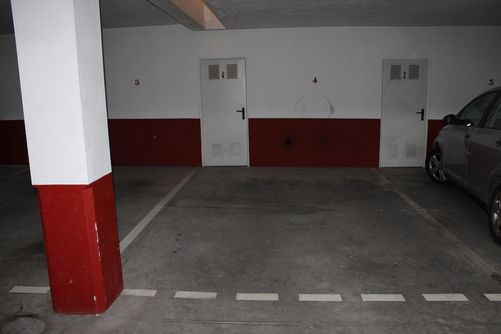 The underground parking and a storage room are  for sale in the very center of Fuengirola., Spain