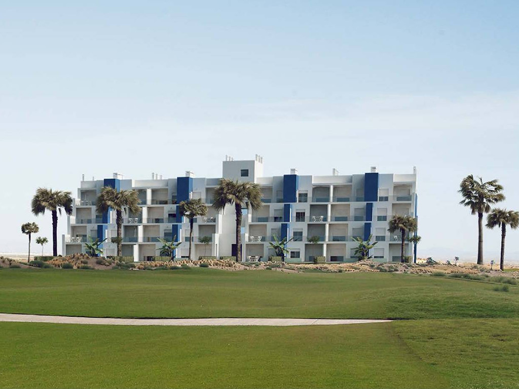 For sale new apartments in Golf Resort in Murcia. Apartments with views over the golf. Will be ready,Spain