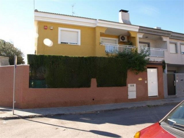 Semi-detached villa in the corner, located in San Javier, just a step away from the city center, whe, Spain