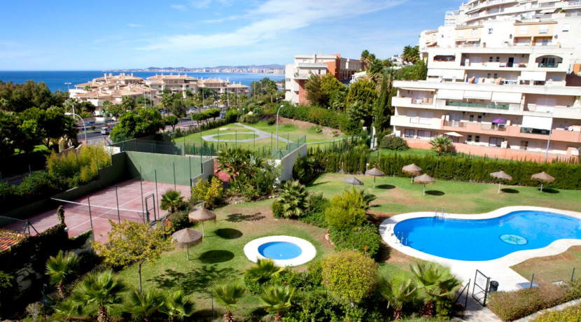 Precious apartment with stunning sea views only a few minutes walk from the beach. This apartment wi, Spain