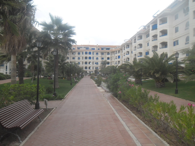 Corner first line beach ground floor apartment located next to all kind of amenities. Ready to use f, Spain