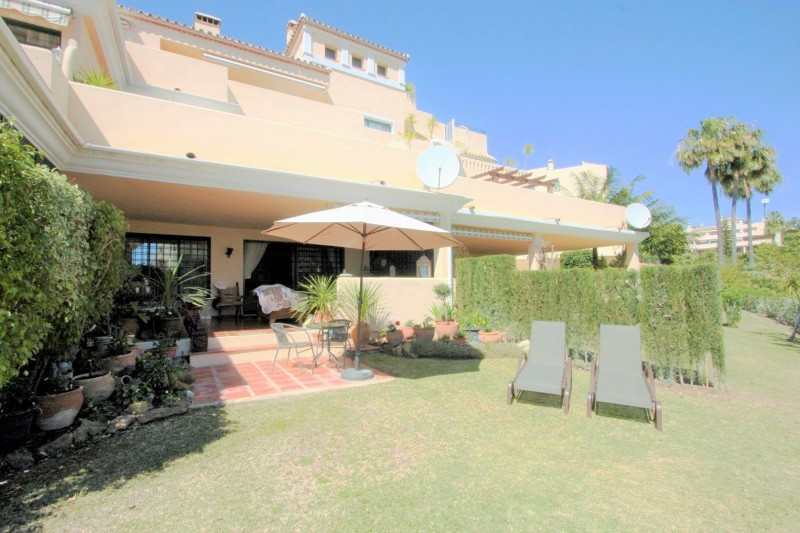 Beautifully situated garden apartment with a very cosy terrace leading onto the 20 m2 private garden,Spain