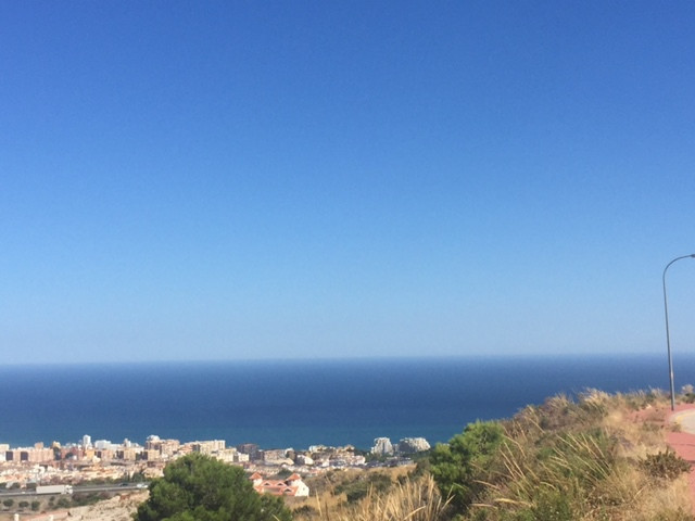 Two plots for sale next to each other, with amazing sea views, in Santangelo, Benalmadena. The plots, Spain