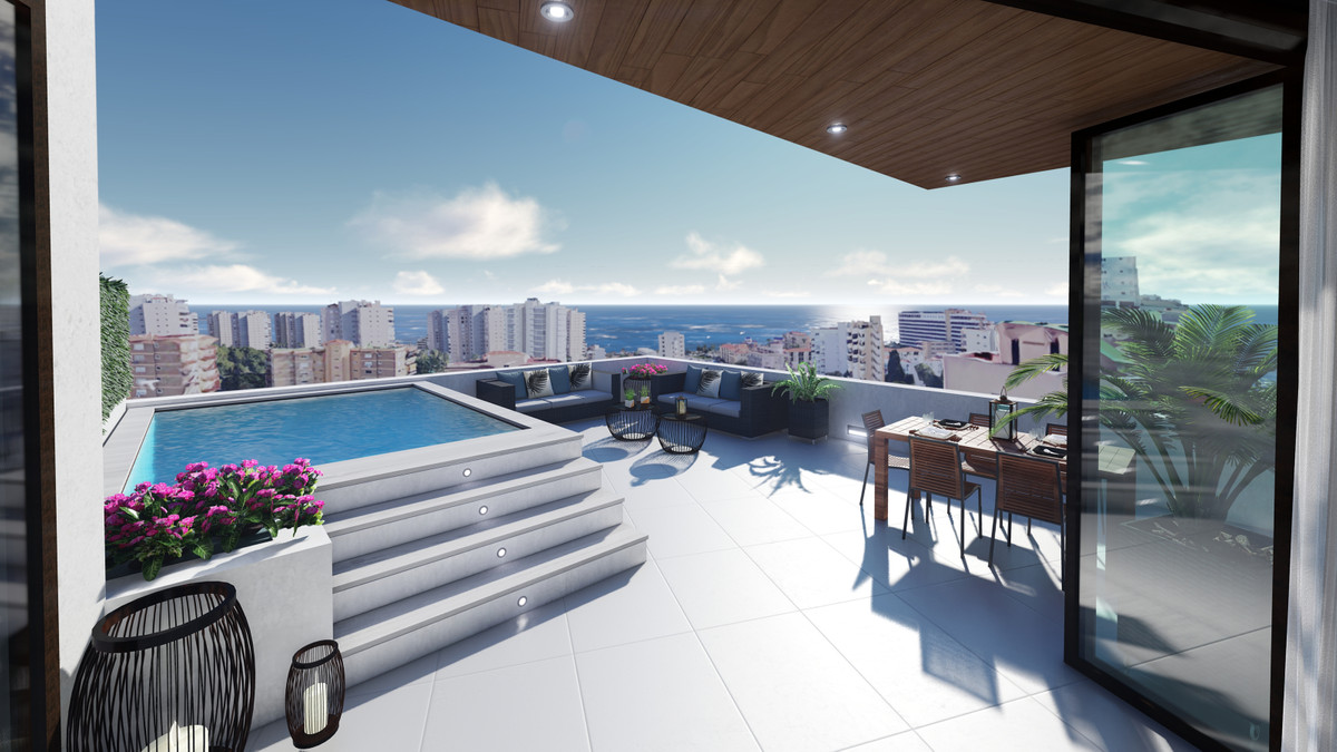 2 AND 3 BED ROOMED APARTMENTS, AND PENTHOUSES IN TORREMOLINOS /PLAYAMAR WITH PRIVATE POOLS.   RESIDE, Spain