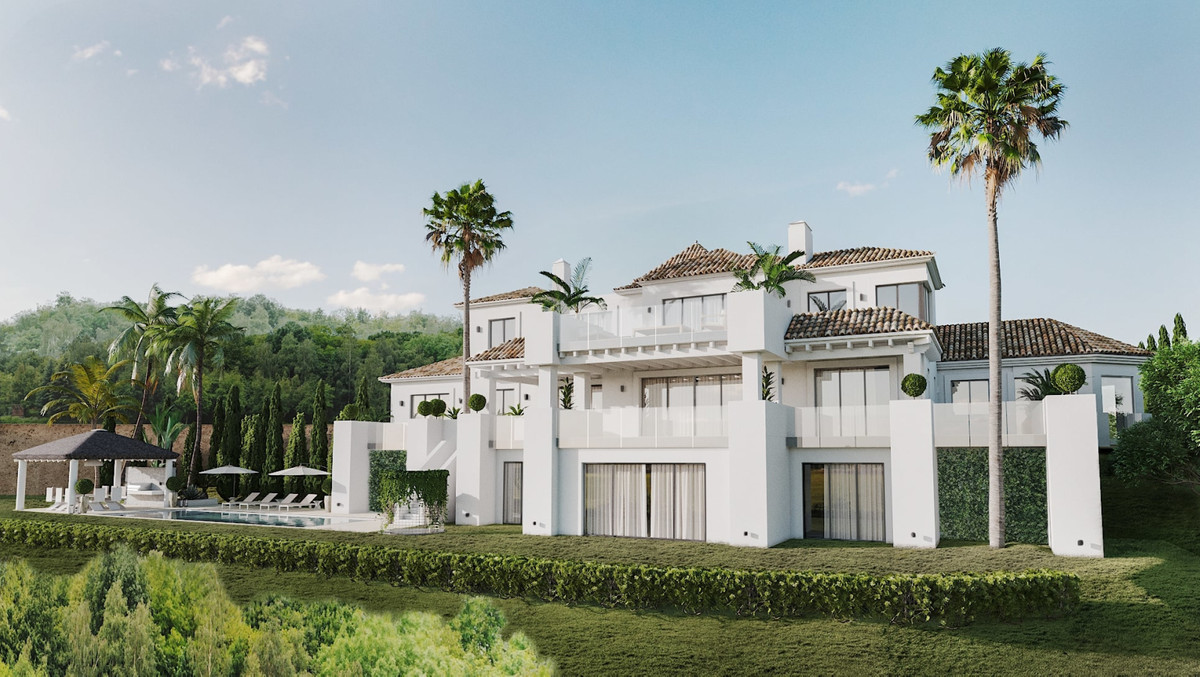 One of the latest developments in La Zagaleta- Villa D'art. This new house, maintains a classic, Spain