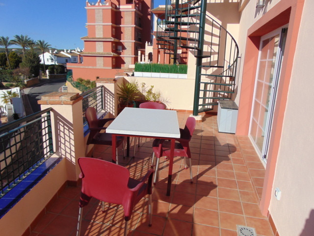 Beautiful duplex in private urbanization, with sea views from the living room and the two bedrooms. ,Spain