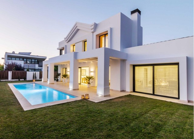 """Magnificent newly built detached house with 3 bedrooms, 2 bathrooms and 1 toilet, living room , Spain"