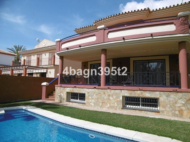 This contemporary villa is beside the 9 hole golf course at La Noria , La Cala de Mijas. It is only ,Spain