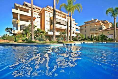 Spectacular top quality apartment with panoramic Mijas mountain, and golf views  Located within a se, Spain