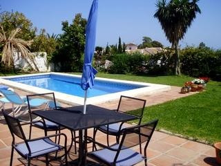 Five bedroom villa on the Mijas road in a residential area.  Magnificent views of the coastline and ,Spain