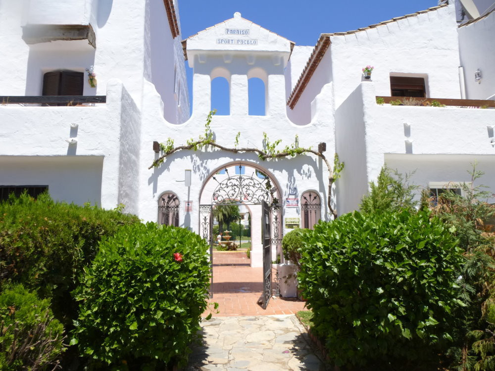 2 bedroom 1st floor apartment in gated Spanish community within the popular area of El Pilar at the , Spain