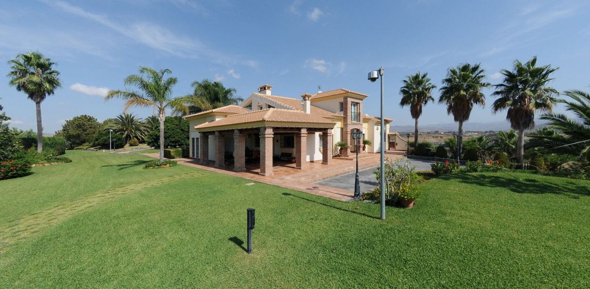 BEAUTIFUL LUXURY VILLA IN ALHAURIN DE LA TORRE! It consists of 75.000m2 in total, of which 35.000m2 ,Spain