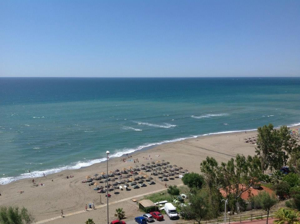 FANTASTIC front line apartment overlooking the Carvajal beach front. The urbanization is gated and h, Spain