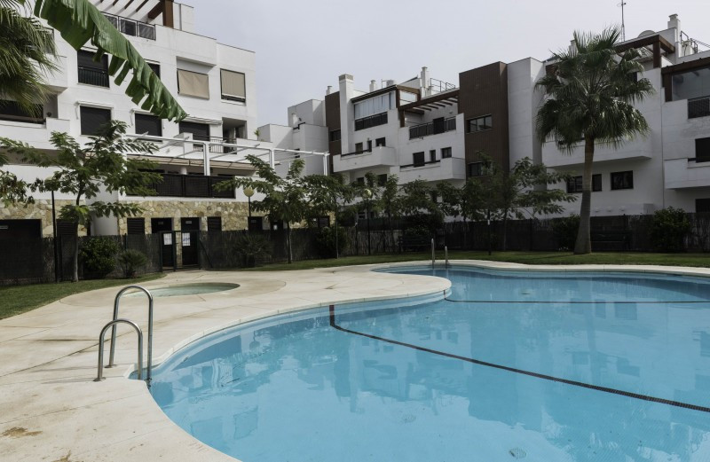 Apartment for sale in Cala de Mijas, Mijas Costa, with 2 bedrooms, 2 bathrooms and has a swimming po,Spain