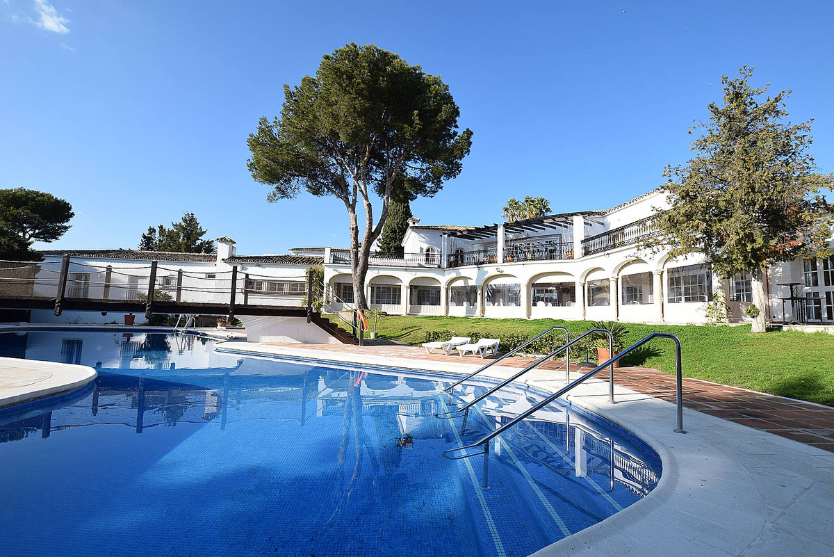 Country club and restaurant located near one of the best beaches in Estepona, close to Puerto Banus , Spain