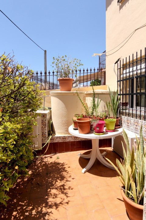 Townhouse next to recinto ferial in Los Boliches, Fuengirola. The house consists of 2 floors, in the,Spain