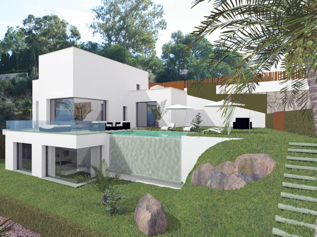 New amazing 4 Bedroom 4 Bathroom villa that will be completed soon in El Rosario.   This villa has p,Spain