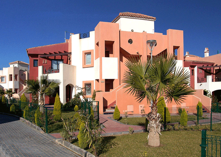 This Mediterranean style, residential building is situated just minutes away from the main area of P,Spain