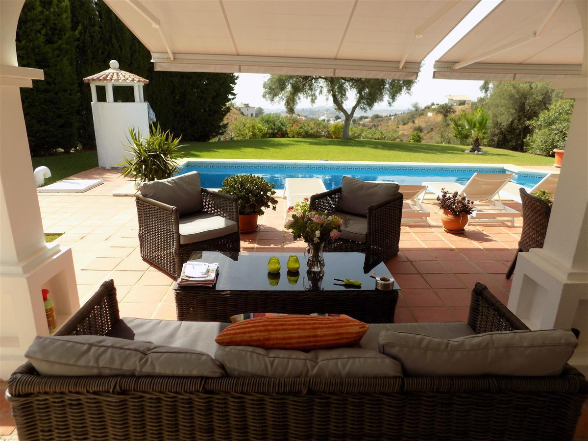 Set in the tranquil slopes below the village of Mijas Pueblo, this charming one level detached villa,Spain