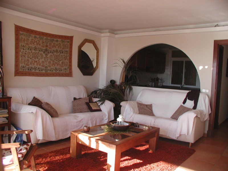 Apartment with view of the sea  Living area of 110 m2, 3 bedrooms, 2 bathrooms, fully equipped kitch, Spain