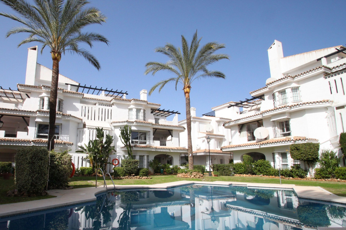 East facing four bedroom townhouse within walking distance from amenities and the famous Puerto Banu, Spain