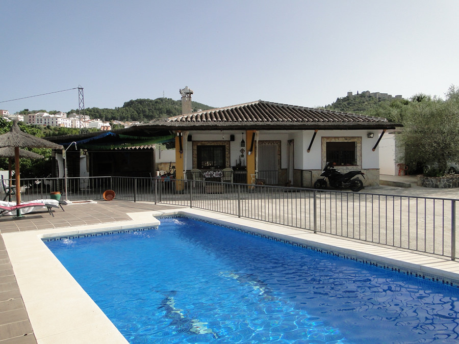 Beautiful finca with large orange grove close to the village of Monda.  The property has been built ,Spain
