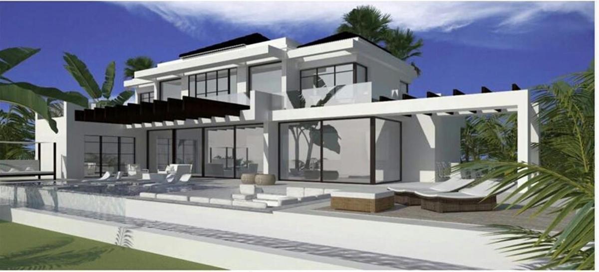 Detached Villa, , Costa del Sol. 5 Bedrooms, 6 Bathrooms, Built 380 m², Terrace 150 m², Garden/Plot ,Spain