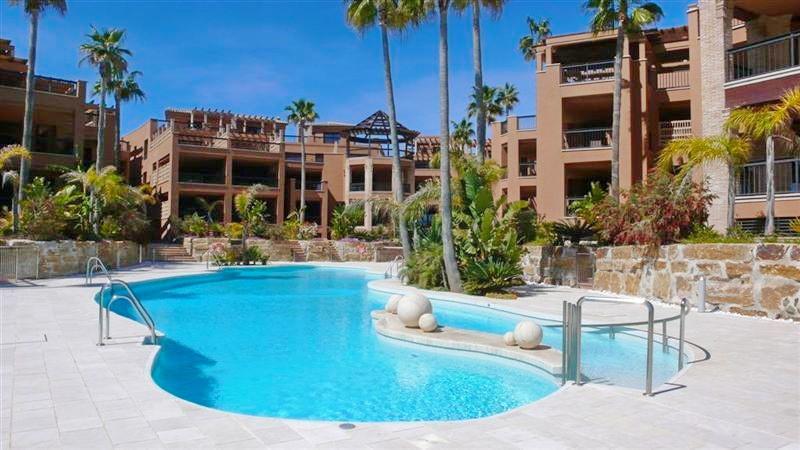 Unique duplex penthouse frontline beach for sale in San Pedro Alcantara, Marbella, Costa del Sol. So,Spain