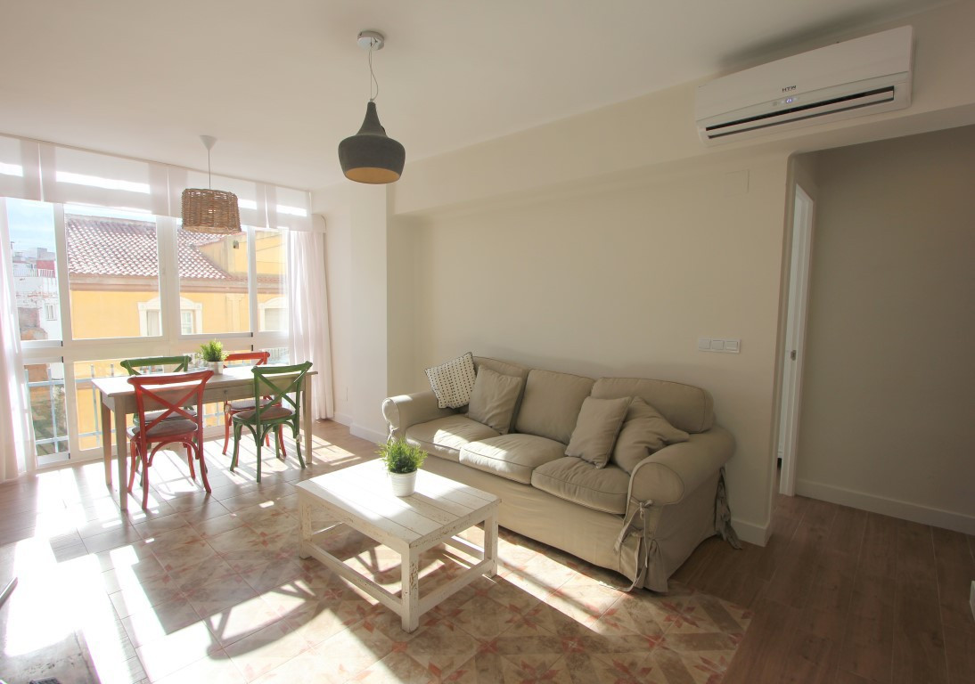 Excellent apartment  for sale located in the center of Malaga, fully renovated and in excellent cond,Spain