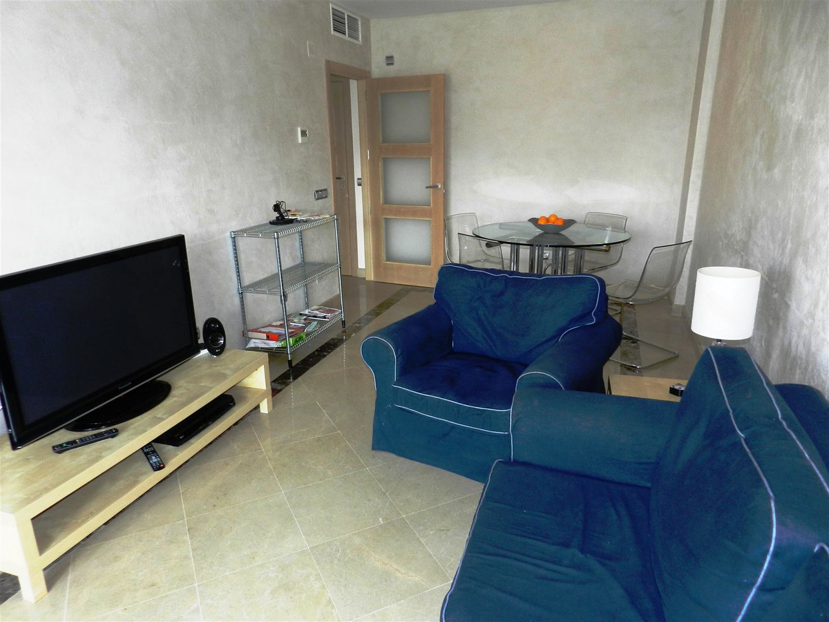 Frontline beach apartment within a desirable  secure urbanisation close to the marina of Duquesa, wi,Spain