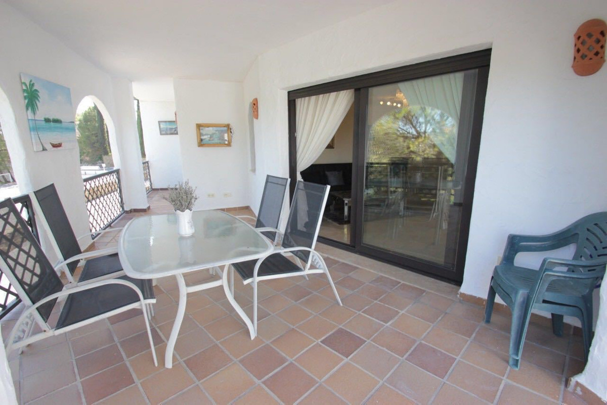 2 bedroom 3 bathroom apartment located in a gated urbanisation with a communal swimming pool and gar, Spain