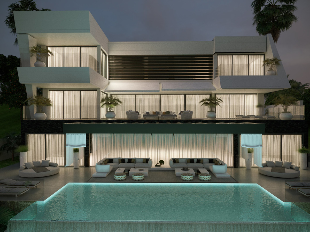 This stunning villa project in the much sought after area of Benahavis is considered by many to occu,Spain