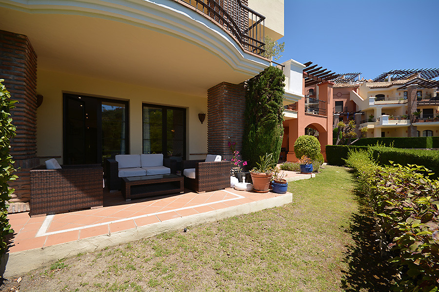 SPACIOUS LUMINOUS 3 BEDROOM CORNER GARDEN APARTMENT IN LAS JACARANDAS.  Excellent quality building, , Spain