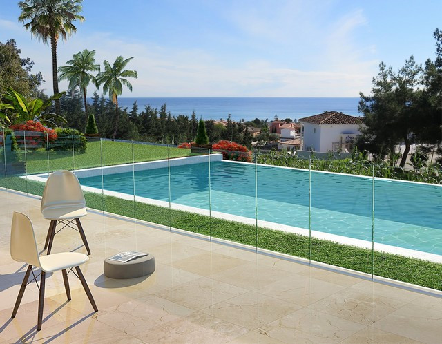 This house is located just outside Estepona with close proximity to the city center with a wide rang, Spain