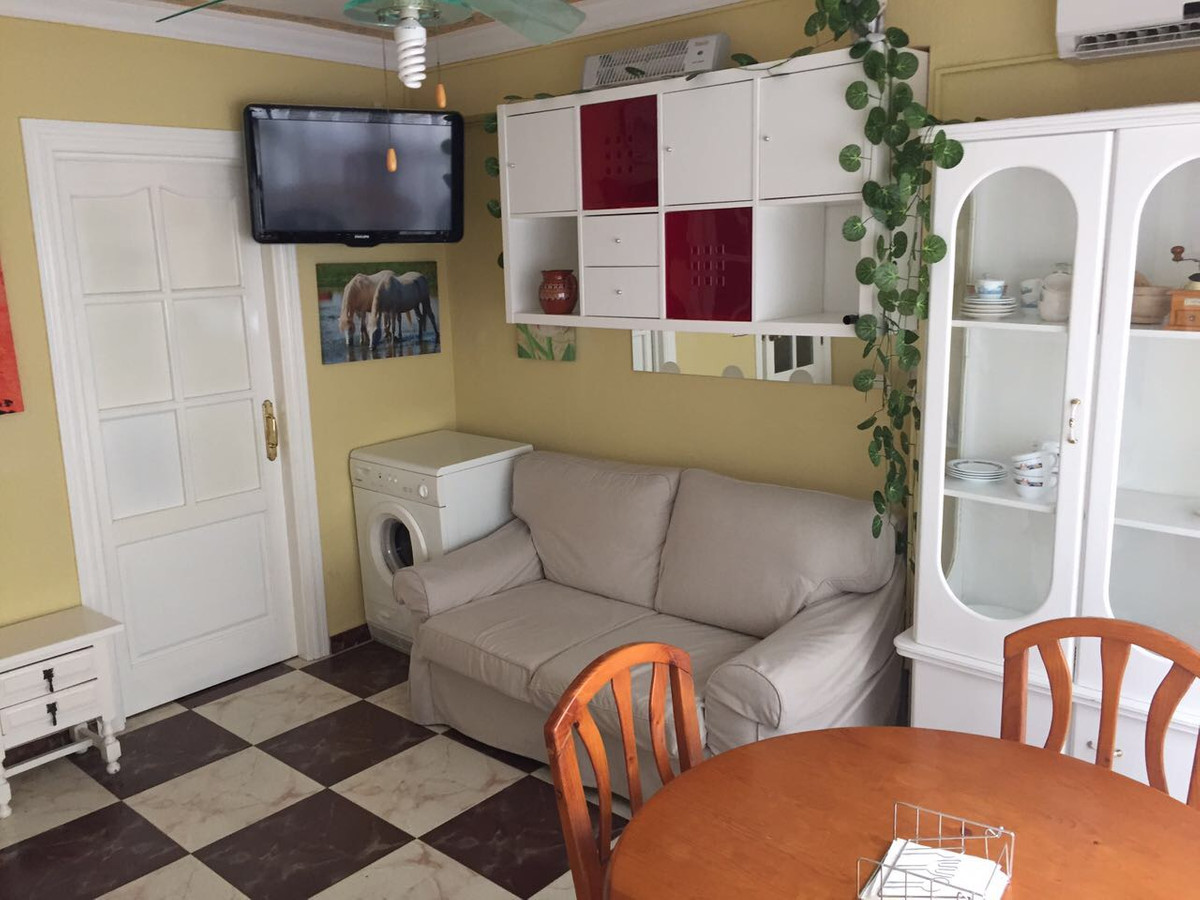 Cozy studio converted into an apartment, situated  on the second line of the beach in Los Boliches. ,Spain