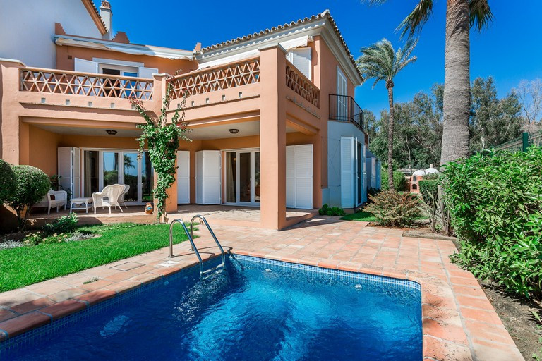 This fabulous house overlooks the Mediterranean Sea, Gibraltar and the African coast, with beautiful,Spain