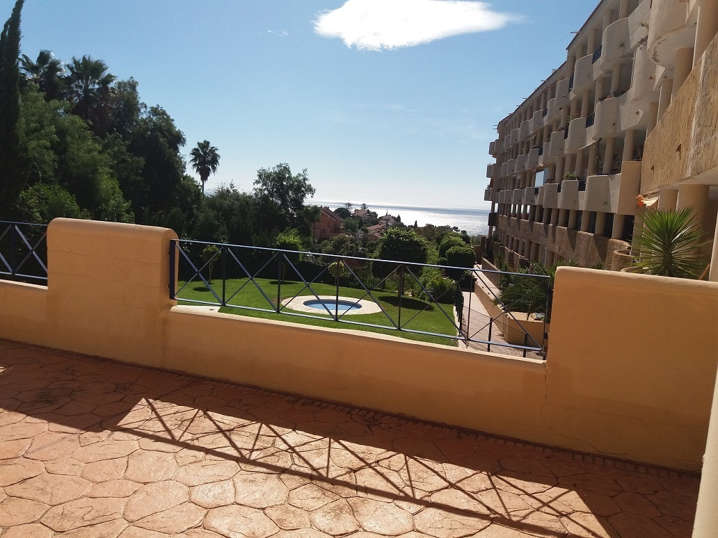 Nice apartment on gated complex with gardens, playground and three pools, located in the upper part ,Spain