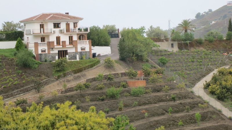 A detached villa in the lovely mountain setting a short drive from the picturesque village of Frigil,Spain