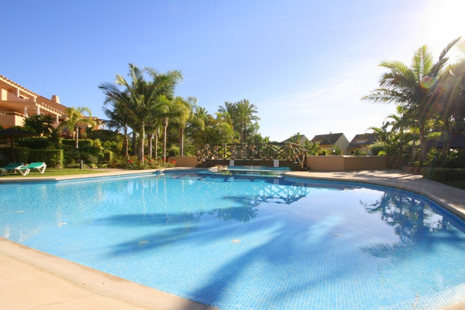 South facing 2 bedroom apartment is located in Marbella East, in Rio Real.   Rio Real is very famous,Spain