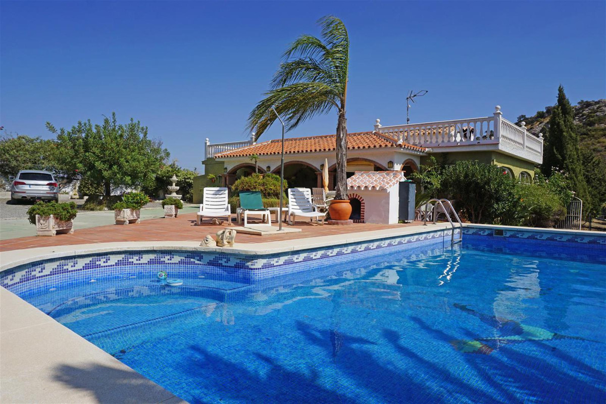 Cosy country house with a lovely immaculate orchard with a large variety of fruit trees (Mangos, pea,Spain