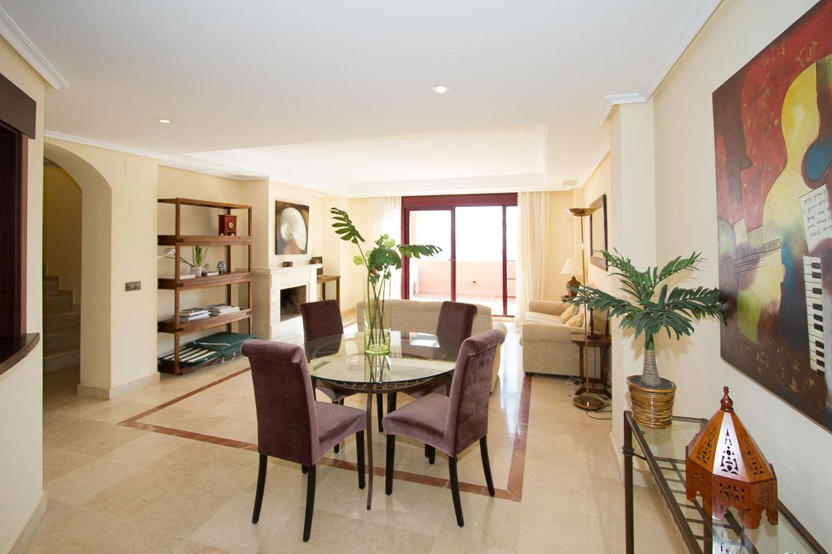 South east facing luxury large duplex penthouse on the wonderful El Soto de Marbella development. Pa,Spain