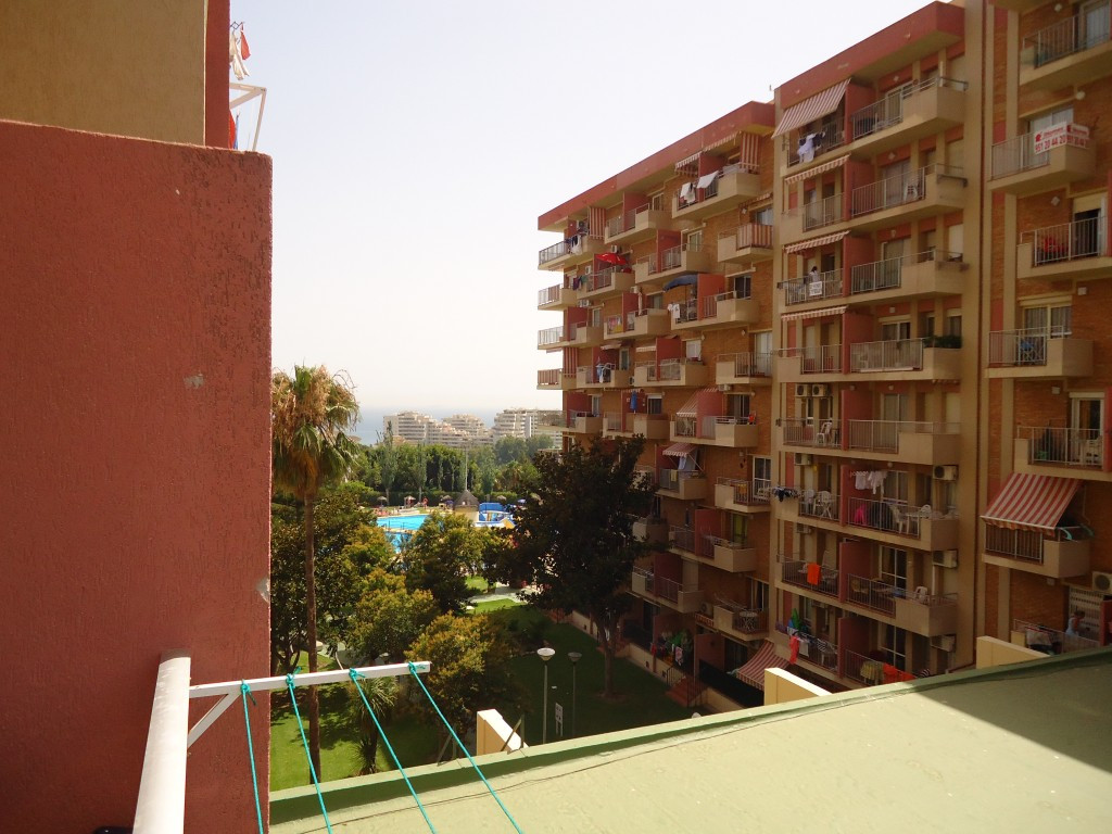Renovated studio flat at the popular Minerva building in the Gamonal area in Benalmadena Costa.  Thi, Spain