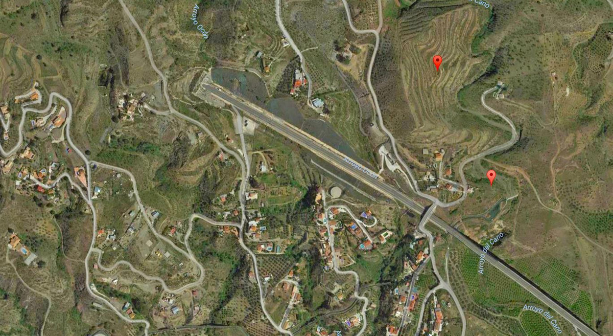 66,995m² rustic plot in Cartama Estacion. The land has no water or electricity., Spain