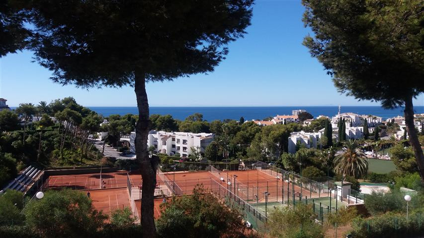 This marvelous studio apartment with fantastic panoramic sea views is located in the residential urb, Spain