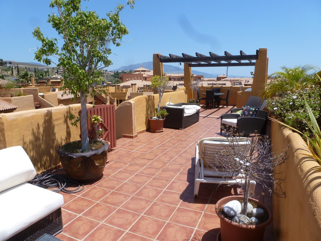 In the exclusive area of Los Flamingos, between Marbella and Estepona, fantastic penthouse with over,Spain