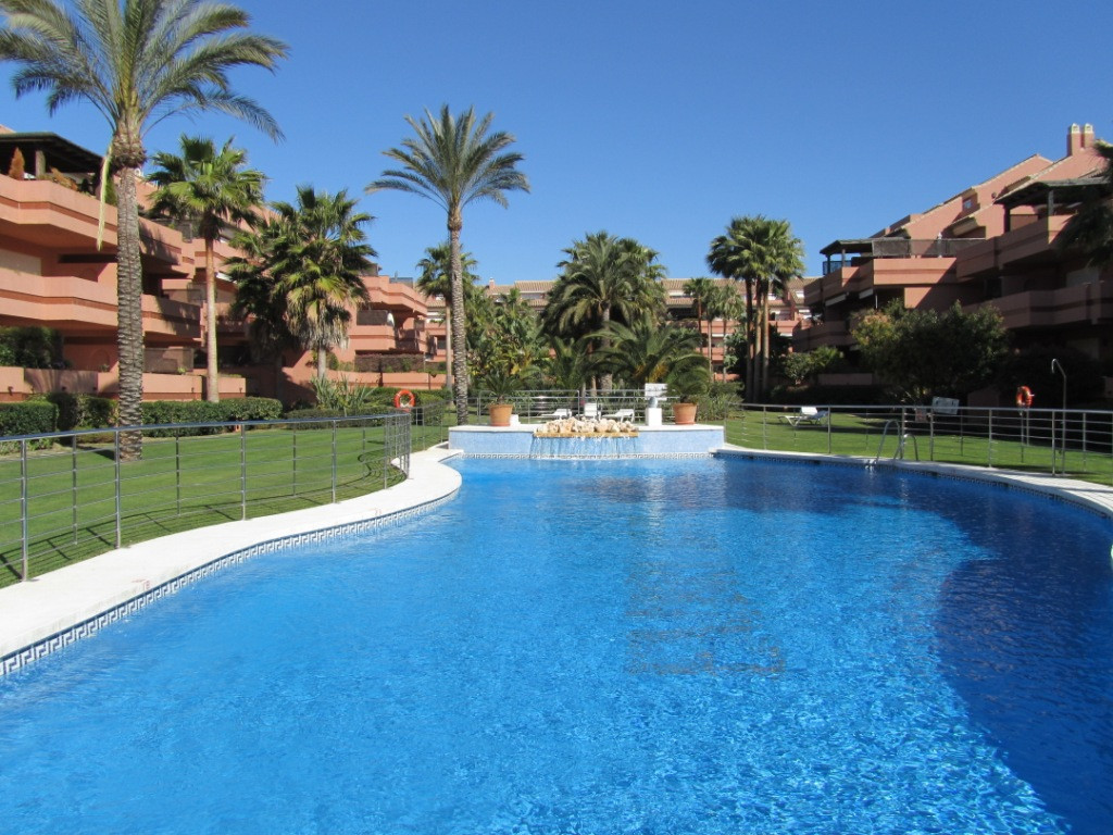 Spacious corner apartment in gated urbanization with gardens, 2 swimming pools and concierge and sec, Spain