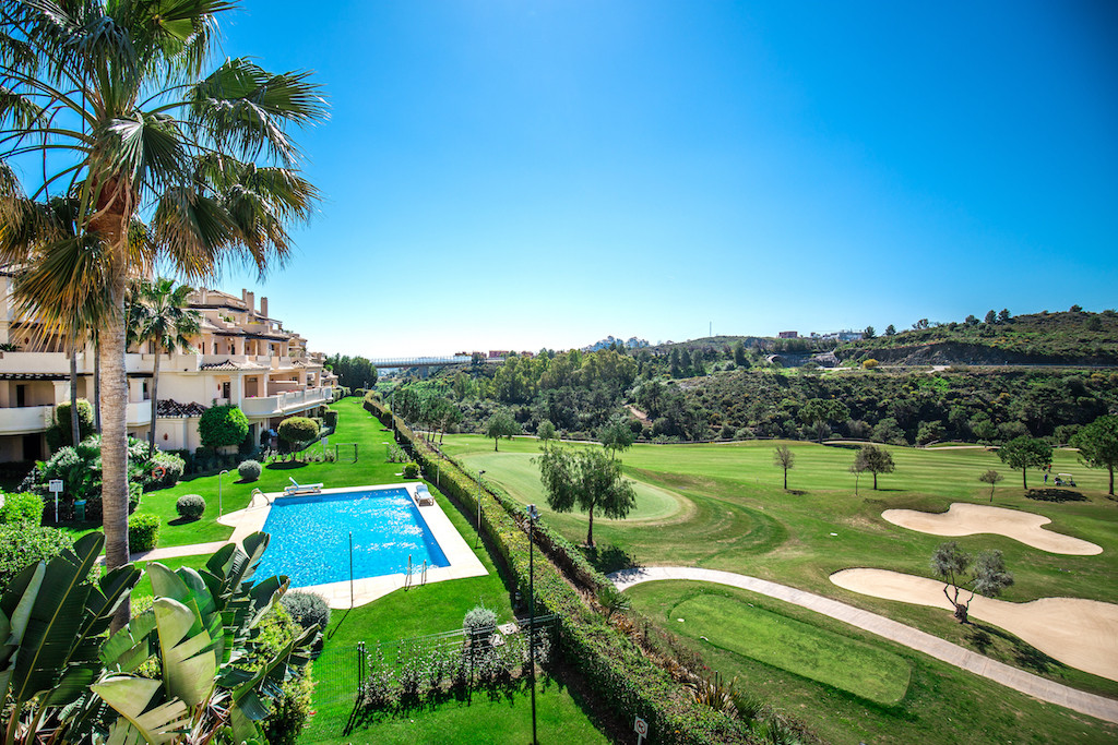 Stunning three bedroom apartment for sale in the sought after gated development of Capanes del Golf., Spain