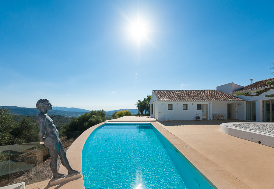 Originally listed at 1.300.000 € now reduced to 1.195.000 € This 4 bedroom contemporary designed vil,Spain