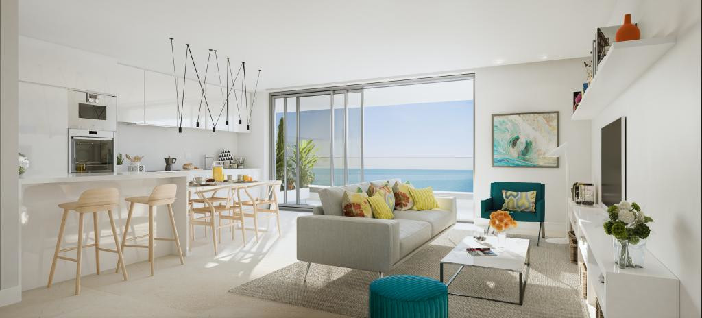 SEALINE HOMES (PORTAL A- 22) is an exclusive project located at the beachfront in Torrox-Costa (Cost Spain