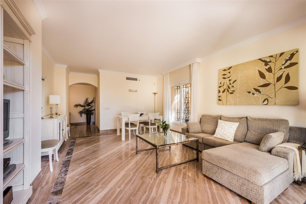 Magnificent ground floor in Elviria with 2 bedrooms and 2 bathrooms. The apartment has the best qual, Spain